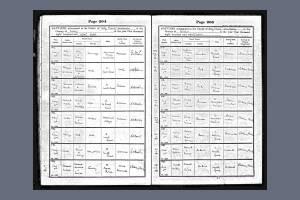 E Kearsey Baptism Certificate