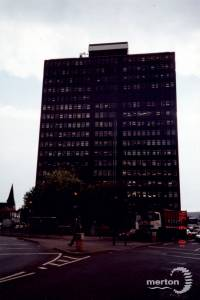 Christchurch Road: Brown & Root Tower, Colliers Wood