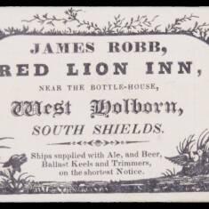 James Robb, Red Lion Inn