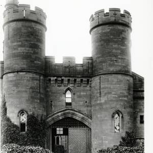 Entrance Gate, Goodrich Court