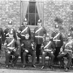 Sergeants' Mess of the Durham Light Infantry