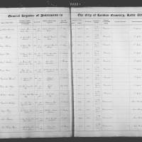 Burial Register 3 - January 1860 to October 1860
