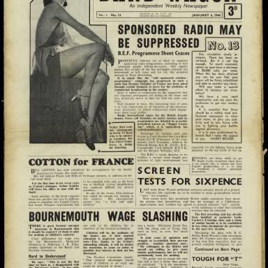 Vol.1 No.13 06 January 1940