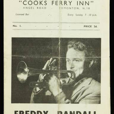 Freddy Randall and his Band, Cooks Ferry Inn, Edmonton - 1951