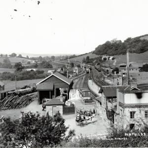Pontrilas railway station - general view