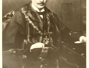 1908-1909, William Harrison, Mayor of Leigh