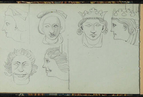Page 59 of sketchbook 1