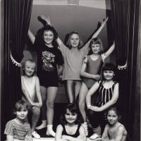 Photograph - group of unknown child dancers