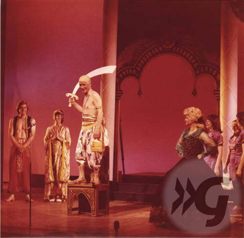 Photograph - Aladdin 1986 - Johnny Beattie and Anne Fields