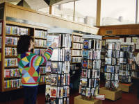 Mitcham Library, Video loan service