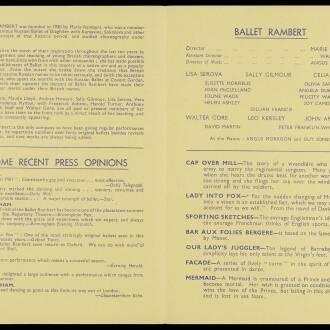 Royal Lyceum Theatre, Edinburgh, March 1940