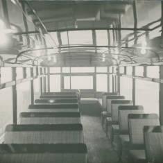 Inside View of Tram
