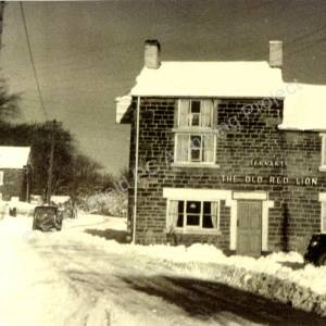 Old Red Lion Grenoside January 1959