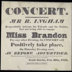 A Concert With Miss Brandon