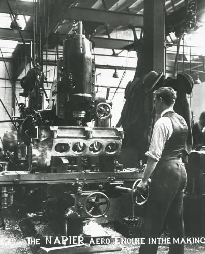 Lion engine: Napier