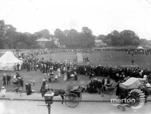 Celebrations on Mitcham Cricket Green, Coronation of Edward VII