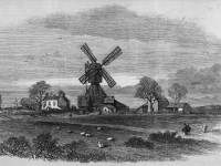 The Old Mill on Wimbledon Common, Lately Removed