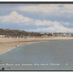 North Beach and Caravan Site, South Shields