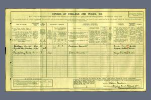 1911 Census Hartfield Crescent