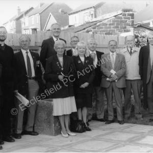 E.P.C. Memorial Garden, Sussex Road,Chapeltown Dedication Service November 1995