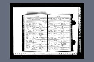 Baptism Record for William James Gillard Smith