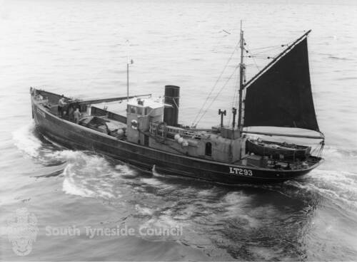 A Trawler Off the North Pier