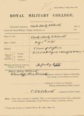RMC Form 18A Personal Detail Sheets Jan 1915 Intake - page 374