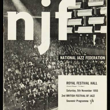 National Jazz Federation, Royal Festival Hall - 1955