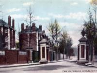 Entrance to Wimbledon Park