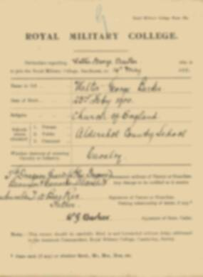 RMC Form 18A Personal Detail Sheets May & Sept 1918 - page 16