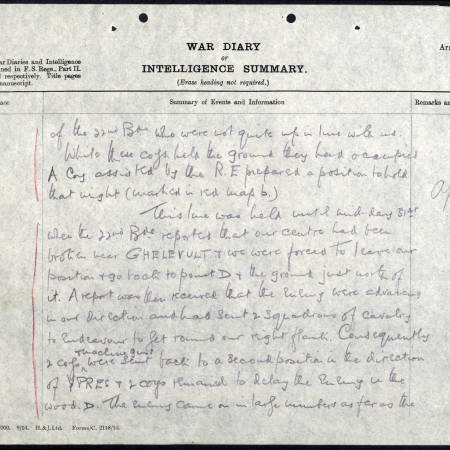 War Diary (3) for 2nd Battalion, Royal Sussex Regiment - Twyman