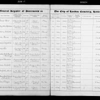 Burial Register 65 - March 1913 to October 1914