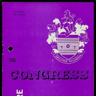Congress Theatre, Eastbourne, March 1964 - P01