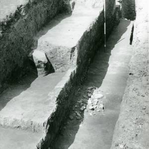 Sutton Walls, trench, 1949-50