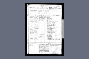 Service Record - William Louis Schermuly