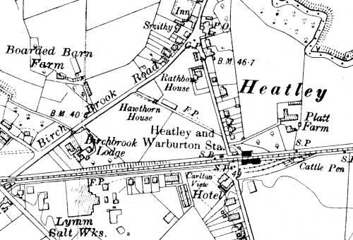 Heatley and Warburton Railway Station