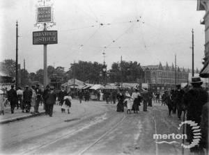 View of Mitcham Fair