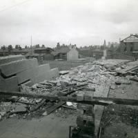 Coffee House Bridge, bomb damage, Blitz