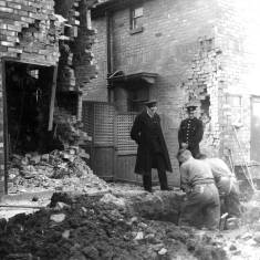 Bomb Damage in Harton House Road