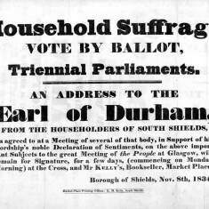 Household Suffrage: An Address to the Earl of Durham