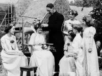 Crowning of the Merton May Queen at St. Johns Church