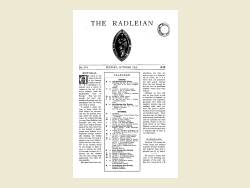 The Radleian 1938 - No. 574 October
