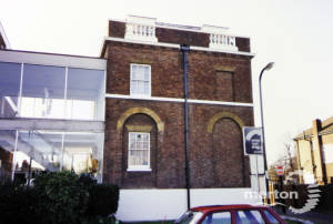 Wandle House: Rear View