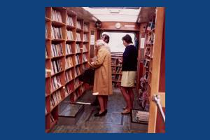 Wimbledon Mobile Library Interior