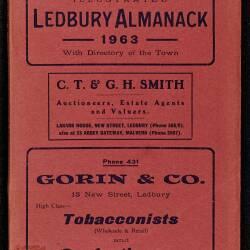 Tilley's Ledbury Almanack 1963