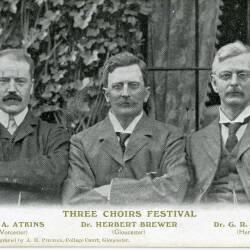 Three Choirs Festival postcards