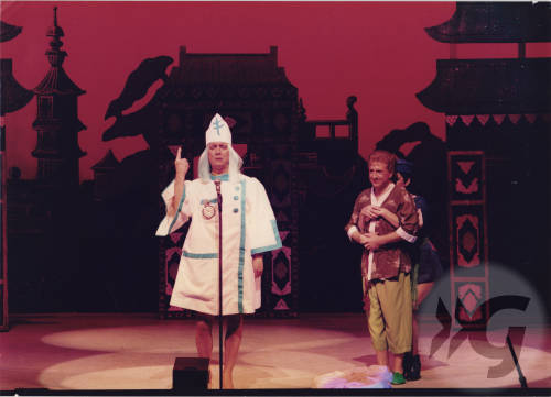 Photograph - Aladdin 1986 - Johnny Beattie