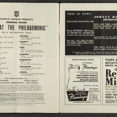 Norman Granz' Jazz at the Philharmonic First British Tour 1958 012