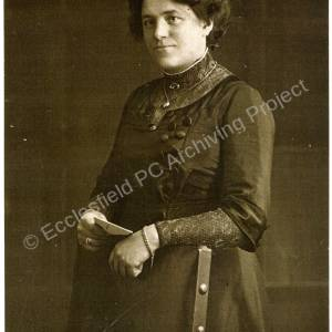 Mildred Beever c. 1910.