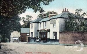 Epsom Road: George Inn, Morden